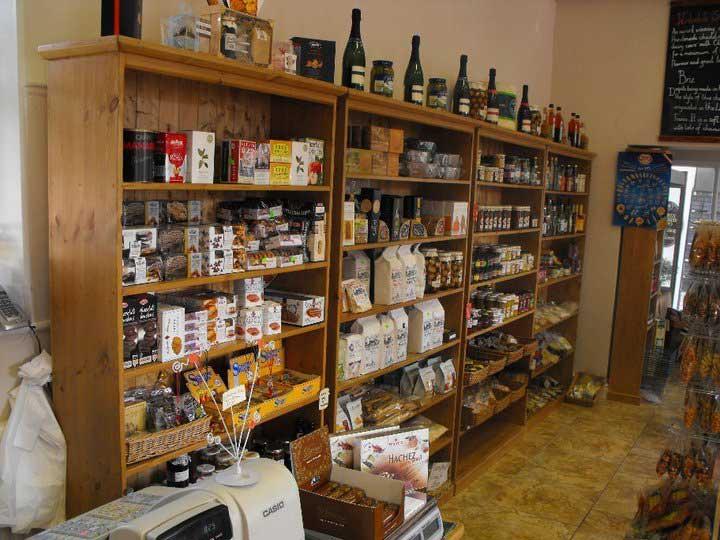 shop fit pine waxed bookcase display Ashford