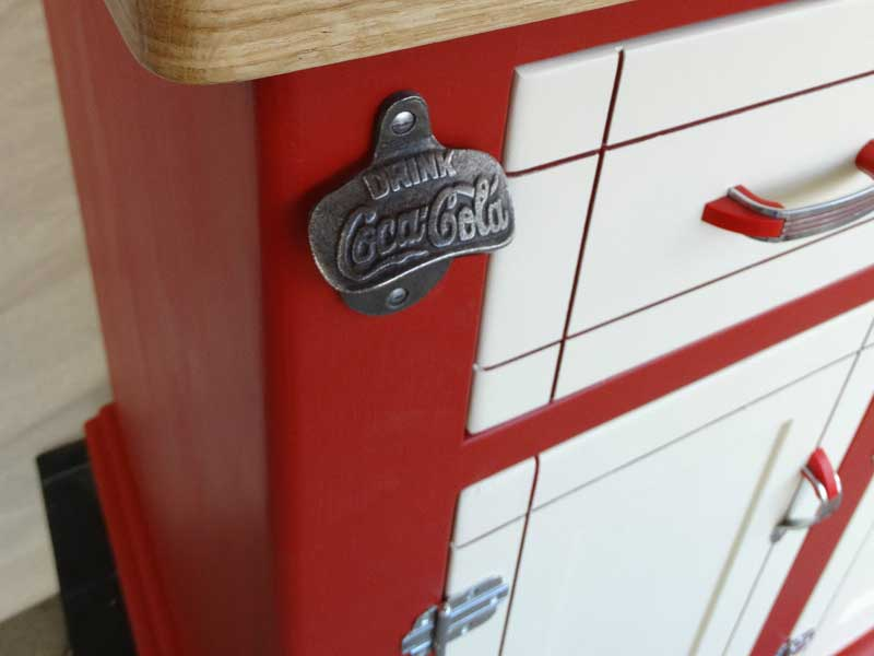 retro vintage coca cola bottle opener