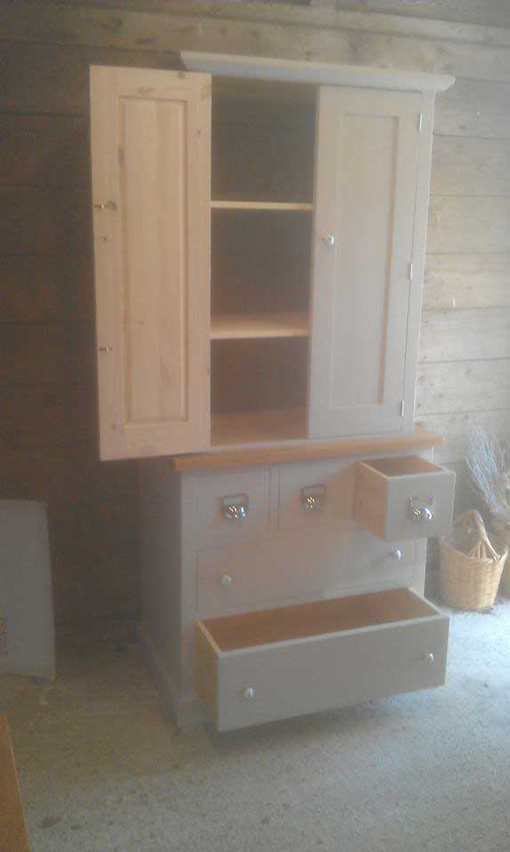 hand made kitchen combination unit