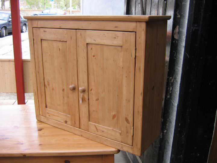 2 door distressed wall cupboard kitchen