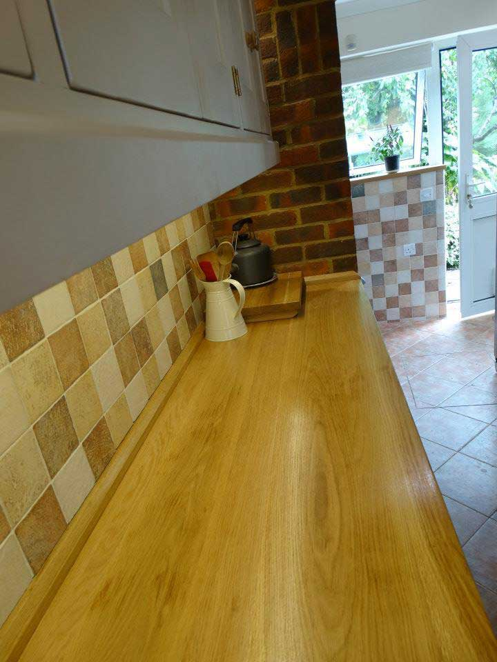 oak top kitchen seeled