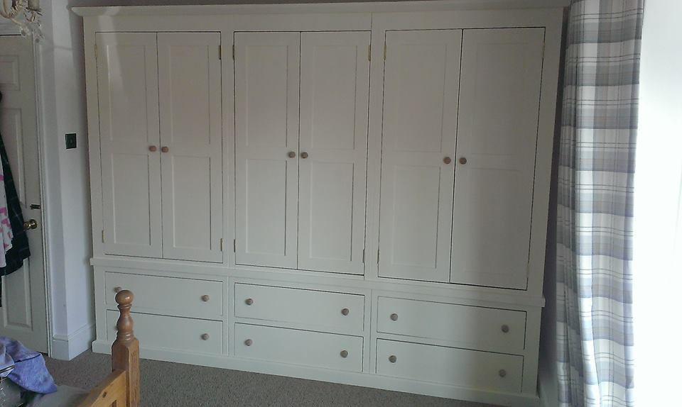 Hand made large combi wardrobe Dymchurch, Kent