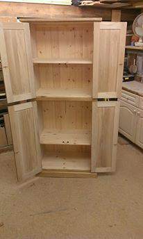 oak storage unit 2