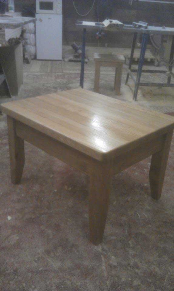 oak coffee table living room seeled