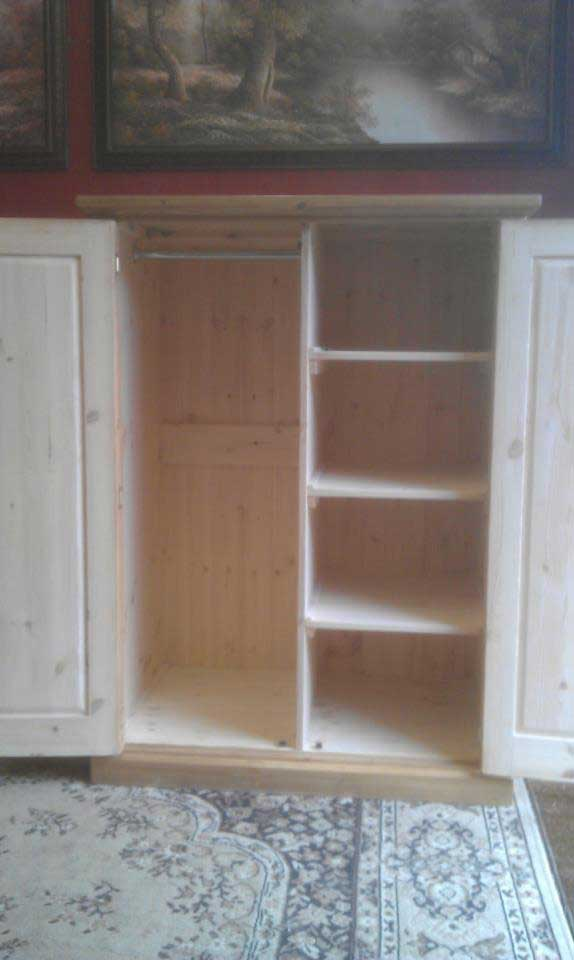 combination wardrobe pine Folkestone