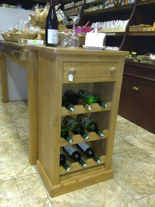 Hand made wine rack Folkestone