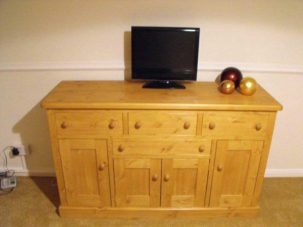 hand made pine bedroom storage Dymchurch