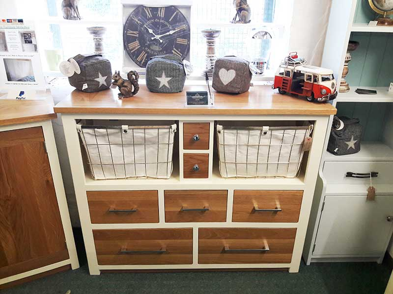 one-off-solid-oak-and-painted-pine-kitchen-drawer-cabinet-Hythe-Kent