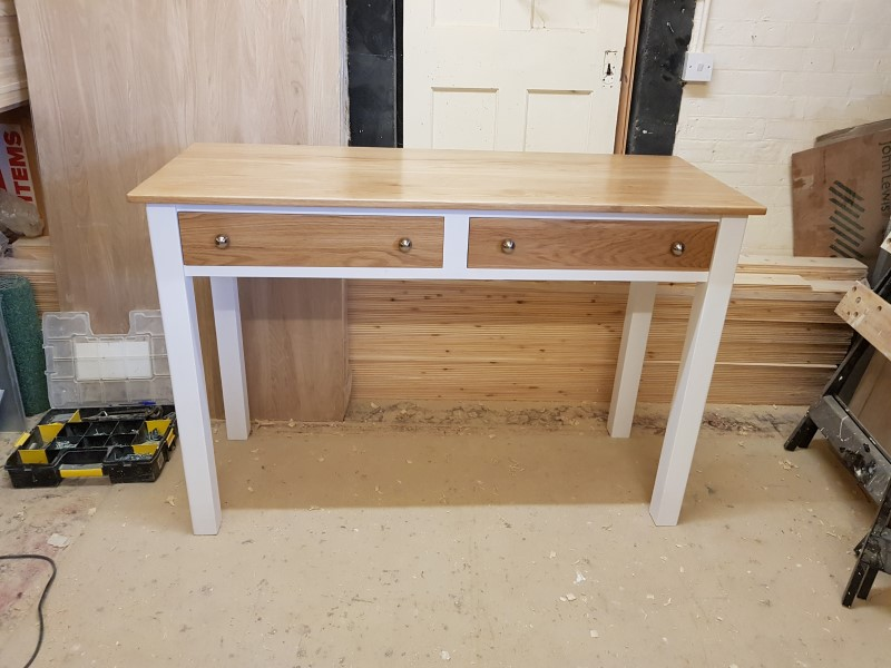 Bespoke hand made Hall table Hythe