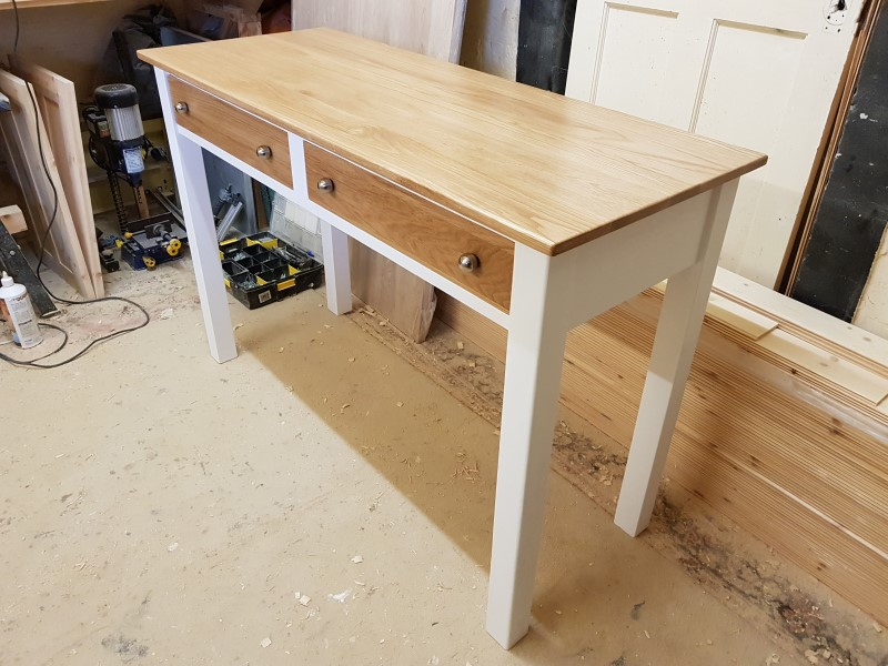 Bespoke hand made Hall table Folkestone