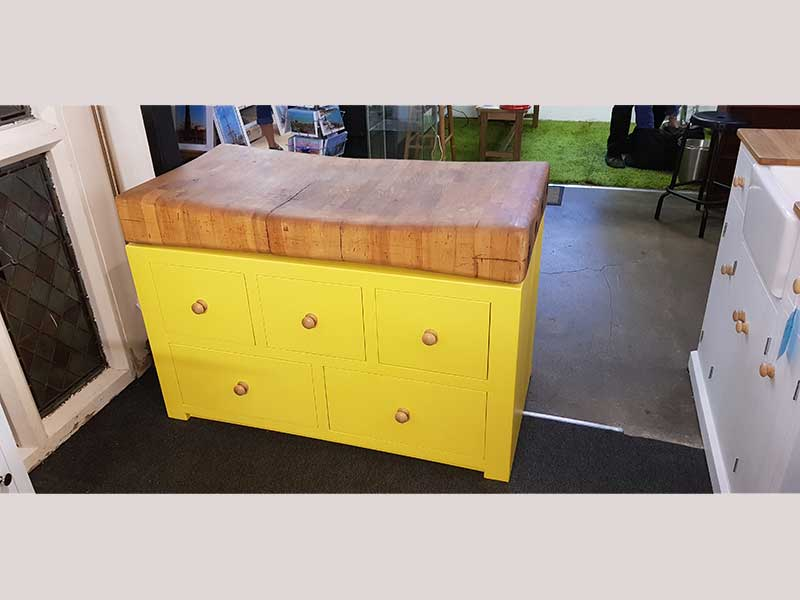 Painted-butchers-block-hand-made-in-Kent
